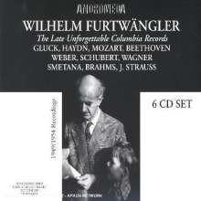 Wilhelm Furtwängler - Late Unforgettable Columbia Records, 6 CDs