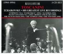 Toscanini dirigiert Tschaikowsky, 3 CDs