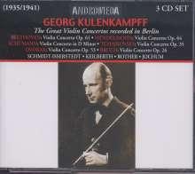 Georg Kulenkampff - The Great Violin Concertos rec.in Berlin, 3 CDs