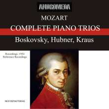 Wolfgang Amadeus Mozart (1756-1791): Klaviertrios Nr.1-5, 2 CDs
