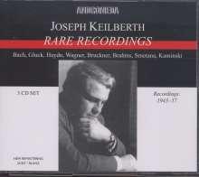 Joseph Keilberth - Rare Recordings, 3 CDs