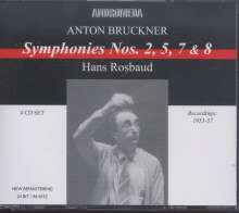 Anton Bruckner (1824-1896): Symphonien Nr.2,5,7,8, 4 CDs