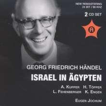 Georg Friedrich Händel (1685-1759): Israel in Ägypten (in dt.Spr.), 2 CDs