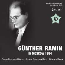 Günther Ramin in Moscow 1954, 2 CDs