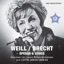 Kurt Weill (1900-1950): Opera & Songs, 2 CDs