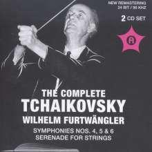 Wilhelm Furtwängler  - The Complete Tschaikowsky, 2 CDs