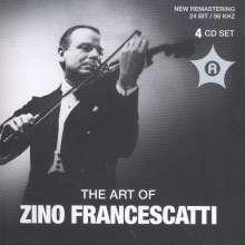 Zino Francescatti - The Art of, 4 CDs