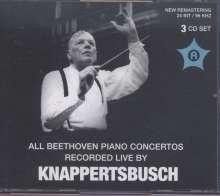 Ludwig van Beethoven (1770-1827): Klavierkonzerte Nr.3-5, 3 CDs
