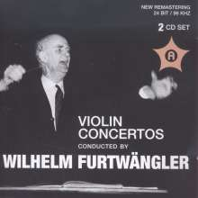 Violin Concertos conducted by Wilhelm Furtwängler, 2 CDs
