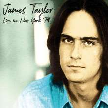 James Taylor: Live In New York: Radio Broadcast 1974, 2 CDs