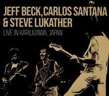Jeff Beck, Carlos Santana & Steve Lukather: Live In Kariuizawa, Japan, 2 CDs