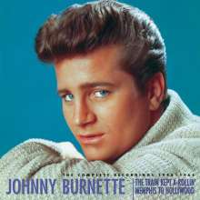 Johnny Burnette: The Train Kept A-Rollin' - Memphis To Hollywood, 9 CDs
