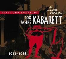 100 Jahre Kabarett: Da machste was mit - 1933-1955, 3 CDs