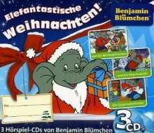 Benjamin Blümchen Weihnachtsbox, 3 CDs