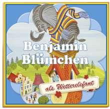 Elfie Donnelly: Benjamin Blümchen als Wetterelefant, 1 Vinyl-Schallplatte, LP