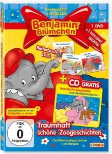 Benjamin Blümchen: Traumhaft schöne Zoogeschichten (Bilderbuch-DVD + CD), DVD