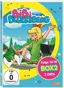 Bibi Blocksberg Box 2, 3 DVDs
