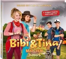 Filmmusik: Bibi und Tina. Der Soundtrack zum 3. Kinofilm/ Deluxe-Edition. Mädchen gegen Jungs, 2 CDs