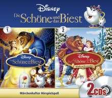 Disney. Die Schöne und das Biest - Box, 2 CDs