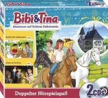 Bibi und Tina:  Abenteuer auf Schloss Falkenstein, 2 CDs