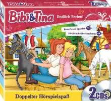 Bibi und Tina CD-Box: Endlich Ferien!, 2 CDs