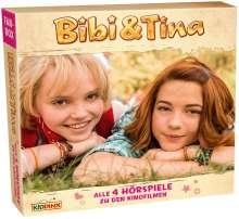 Bibi und Tina: Die Kinofilm-Fanbox, 4 CDs