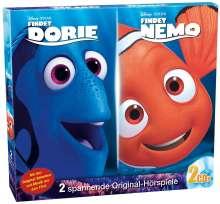 Disney/Pixar: Findet Nemo / Findet Dorie, 2 CDs