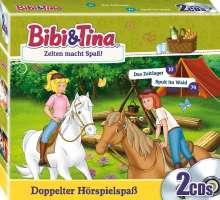 Bibi & Tina: Zelten macht Spaß, 2 CDs