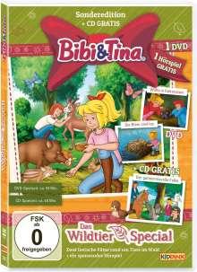 Bibi und Tina - Das Wildtier-Special, 1 CD und 1 DVD