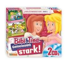Bibi & Tina: Jubiläumsedition Box 1 - Gemeinsam stark!, 2 CDs