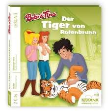 Stephan Gürtler: Bibi und Tina Hörbuch 11. Der Tiger von Rotenbrunn, 2 CDs
