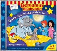Benjamin Blümchen. Gute-Nacht-Geschichten 17. Mondgeschichten, CD