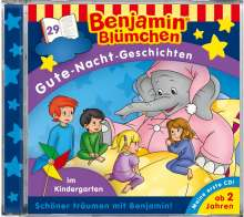 Benjamin Blümchen Gute-Nacht-Geschichten 29: Im Kindergarten, CD