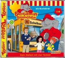 Elfie Donnelly: Benjamin Blümchen 119 als Busfahrer, CD