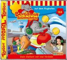Benjamin Blümchen 133: Auf dem Flughafen, CD
