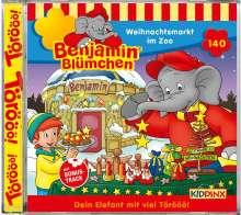 Benjamin Blümchen 140. Weihnachtsmarkt im Zoo, CD