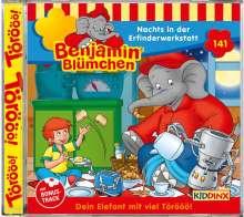 Benjamin Blümchen 141. Nachts in der Erfinderwerkstatt, CD