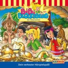Klaus-P. Weigand: Bibi Blocksberg 103. Der Hexenschatz, CD