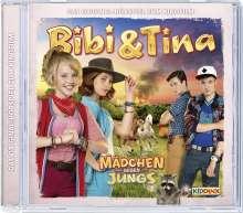 Bibi und Tina - Das Hörspiel zum 3. Kinofilm. Mädchen gegen Jungs, CD