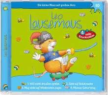 Leo Lausemaus 10 - will nicht draußen spielen, CD
