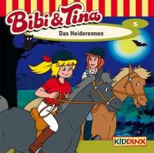 Ulf Tiehm: Bibi und Tina 05. Das Heiderennen, CD
