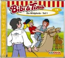 Ulf Tiehm: Bibi und Tina. Die Wildpferde 1, CD