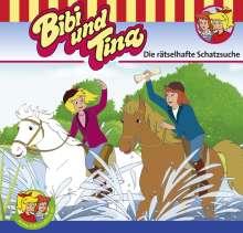 Ulf Tiehm: Bibi und Tina 58. Die rätselhafte Schatzsuche, CD