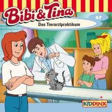 Ulf Tiehm: Bibi und Tina 67. Das Tierarztpraktikum, CD