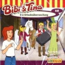 Ulf Tiehm: Bibi und Tina 68. Die Urlaubsüberraschung, CD