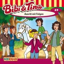 Ulf Tiehm: Bibi und Tina 69. Ausritt mit Folgen, CD