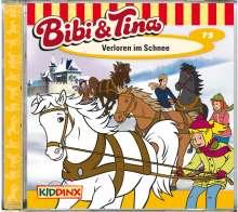 Bibi und Tina 73. Verloren im Schnee, CD
