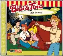 Bibi und Tina 74. Spuk im Wald, CD