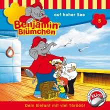 Elfie Donnelly: Benjamin Blümchen 005 ... auf hoher See, CD