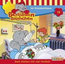 Elfie Donnelly: Benjamin Blümchen 013 im Krankenhaus, CD